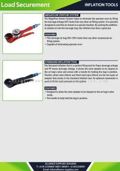 Inflation Tools - MegaFlow Venturi System / Standard Inflation Tool