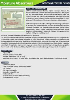 Desiccant Polymer (VMAP)