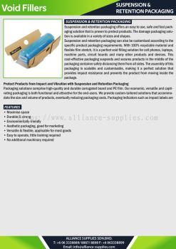 Suspension & Retention Packaging