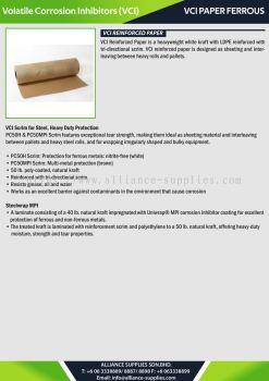 VCI Paper Ferrous - VCI Reinforced Paper
