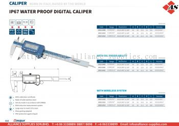 DASQUA IP67 Water Proof Digital Caliper