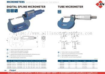 DASQUA Digital Spline Micrometer / Tube Micrometer
