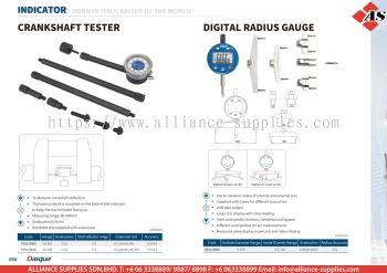 DASQUA Crankshaft Tester / Digital Radius Gauge