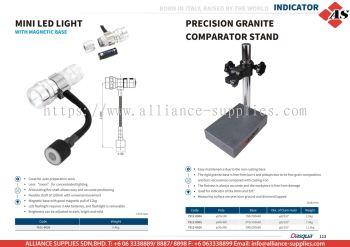 DASQUA Mini LED Light / Precision Granite Comparator Stand