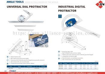 DASQUA Universal Dial Protractor / Industrial Digital Protractor