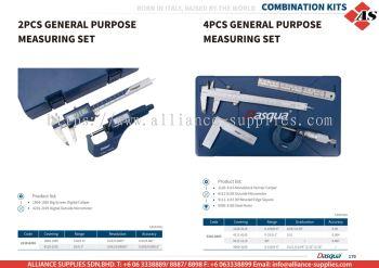 DASQUA 2 Pcs General Purpose Measuring Set / 4 Pcs General Purpose Measuring Set