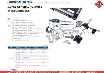 DASQUA 12 Pcs General Purpose Measuring Set