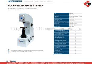 DASQUA Rockwell Hardness Tester