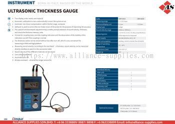 DASQUA Ultrasonic Thickness Gauge