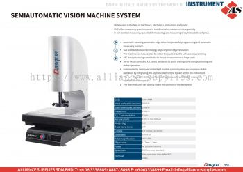 DASQUA Semiautomatic Vision Machine System