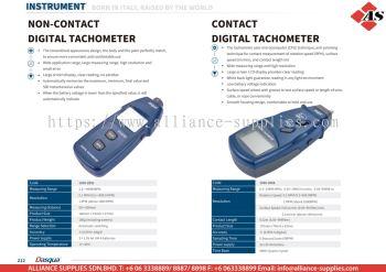 DASQUA Non-Contact Digital Tachometer / Contact Digital Tachometer