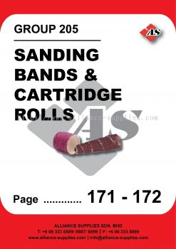 205-Sanding Bands and Cartridge Rolls