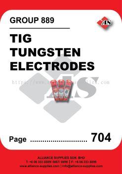 889-Tig Tungsten Electrodes