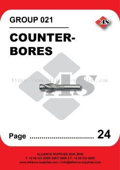 021-Counterbores