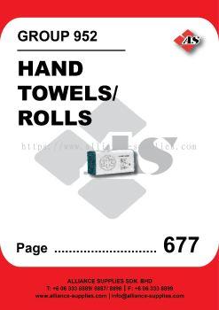 952-Hand Towels/ Rolls