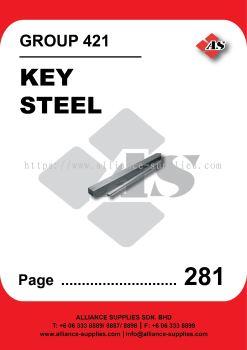 421-Key Steel