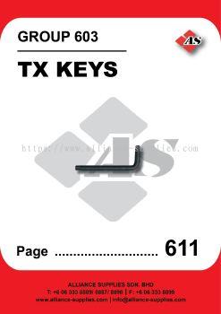 603-Kennedy Hex Keys