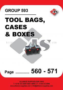 593-Kennedy Tool Bags, Cases and Boxes