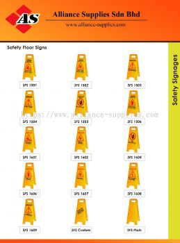 15.13.21 Safety Floor Signages