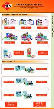15.11.4 First Aid Kits- OSHA/ Small/ Medium/ Large
