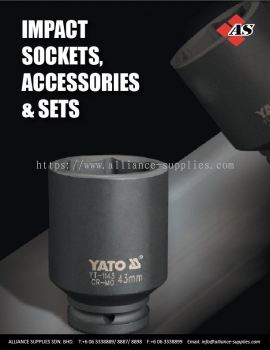 7.04 YATO Impact Sockets, Accessories & Sets