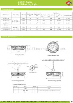 17.03.1 ZY5301 Series LED Low Bay Light