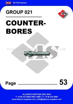 021 - Counterbores
