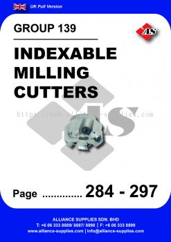 139 - Indexable Milling Cutters
