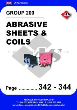 200 - Abrasive Sheets & Coils