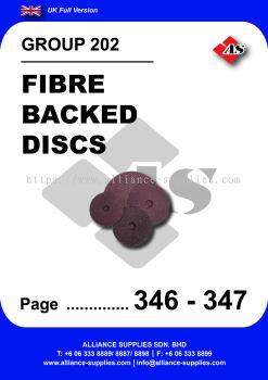 202 - Fibre Backed Discs