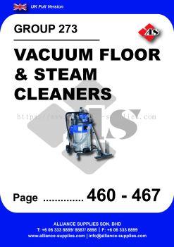 273 - Vacuum Floor & Steam Cleaners