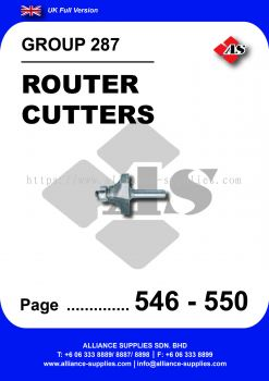 287 - Router Cutters