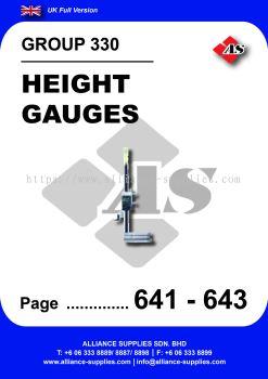 330 - Height Gauges