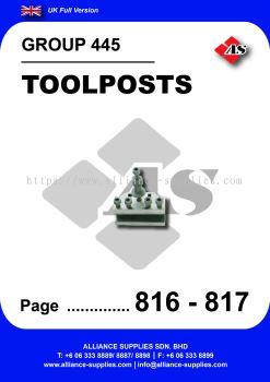 445 - Toolposts
