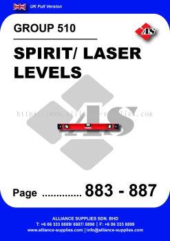 510 - Spirit/ Laser Levels