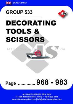 533 - Decorating Tools & Scissors
