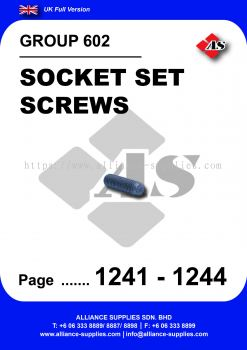 602 - Socket Set Screws