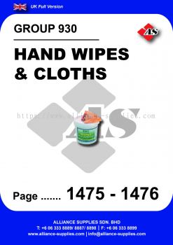 930 - Hand Wipes & Cloths