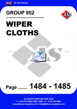 952 - Wiper Cloths