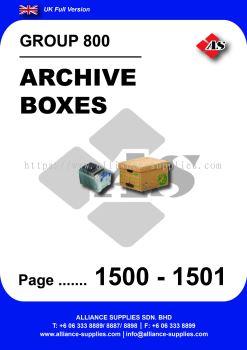 800 - Archive Boxes
