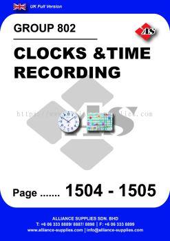 802 - Clocks & Time Recording