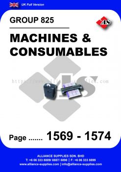 825 - Machines & Consumables