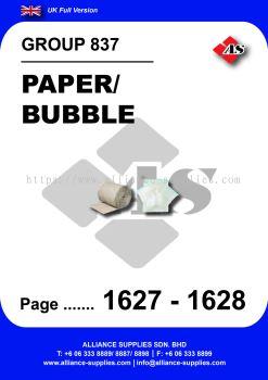 837 - Paper/ Bubble