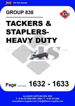838 - Tackers & Staplers- Heavy Duty