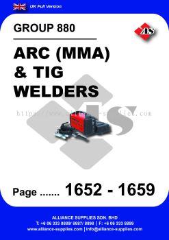 880 - Arc(MMA) & Tig Welders
