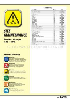 09.13.1 Site Maintenance