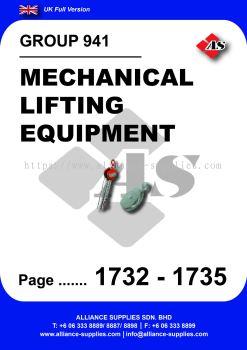 941 - Mechanical Lifting Equipment