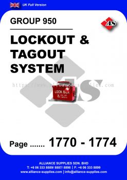 950 - Lockout & Tagout System
