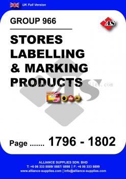 966 - Stores Labelling & Marking Products