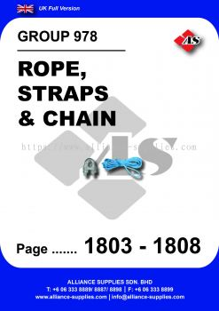 978 - Rope, Straps & Chain